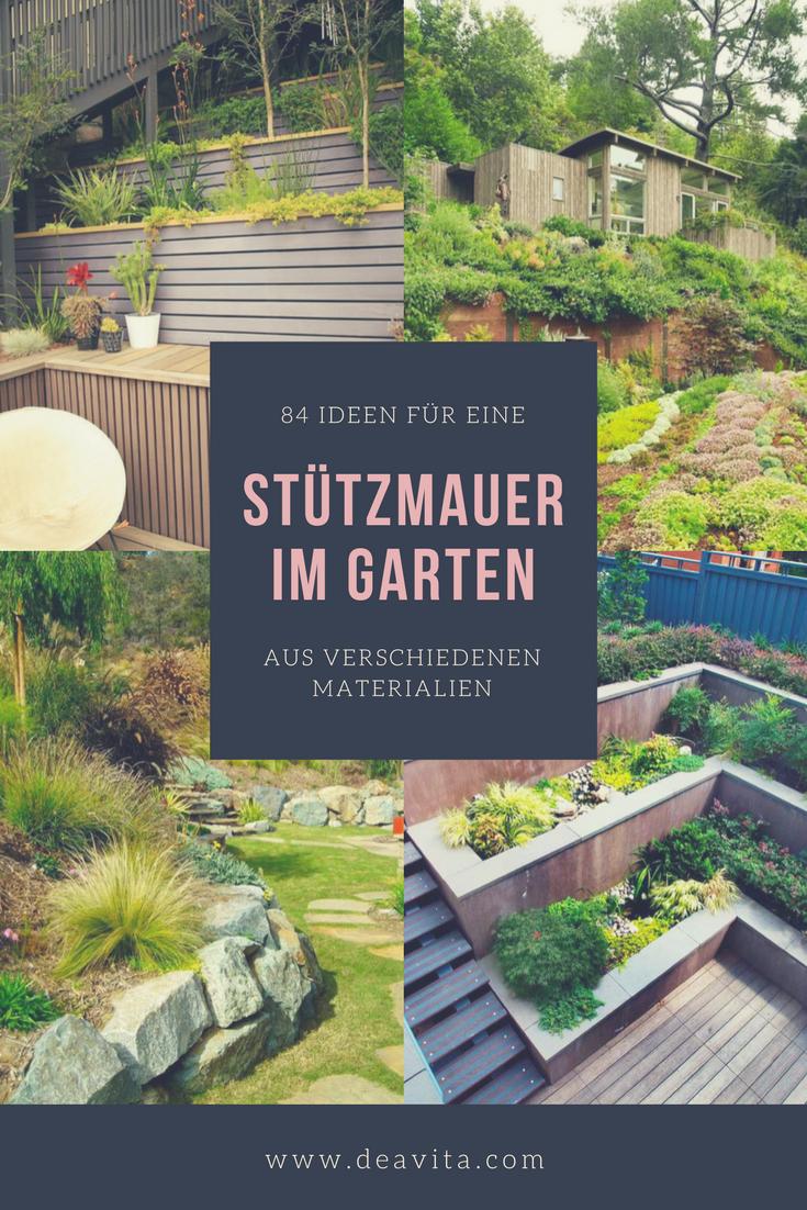 Die Stützmauer im Garten ist ein Gestaltungs-und Landschaftselement von zentraler Bedeutung. Beim Errichten der Gartenmauer ist ein optimales Erscheinungsbild der Gartenlandschaft zu berücksichtigen. #gartenlandschaftsbau