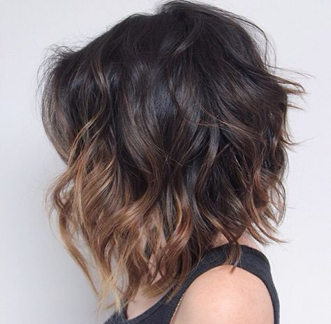 Mom needs to cut and color her hair like this! More
