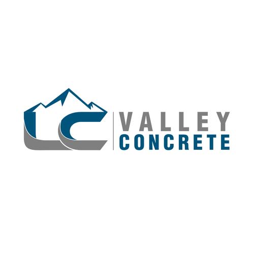 lc valley concrete premier concrete construction company seeking new logo