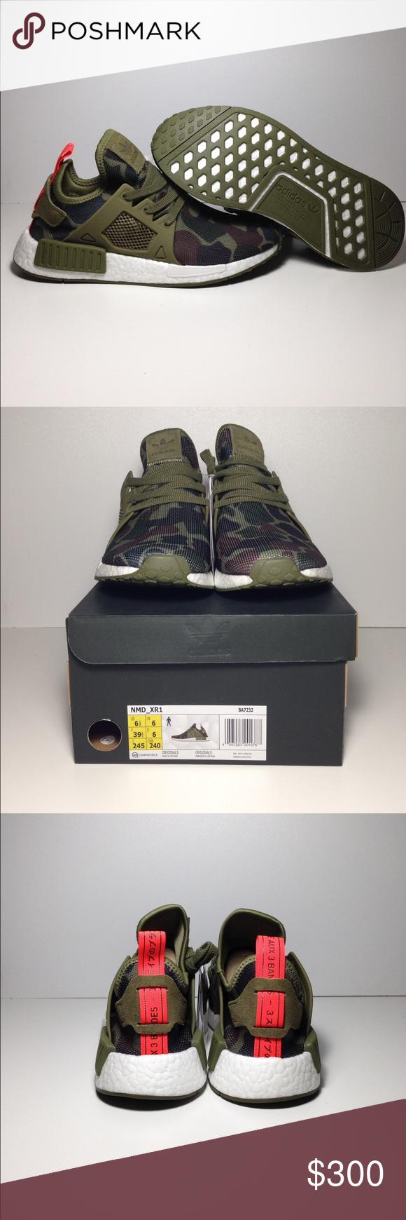 adidas nmd duck mimetico olive autentico e nuova di zecca con box