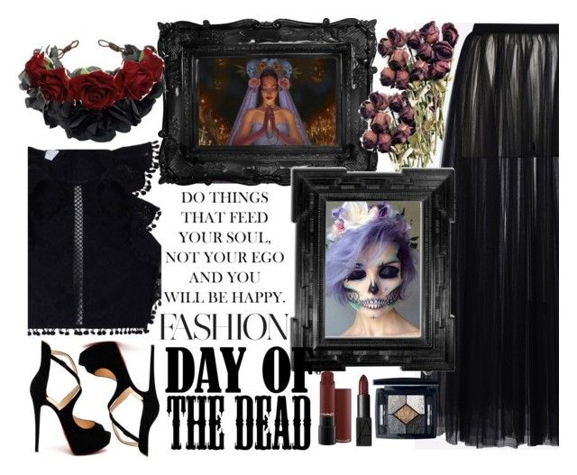 """Day of the dead"" by alehrs on Polyvore featuring arte y Dayofthedead"