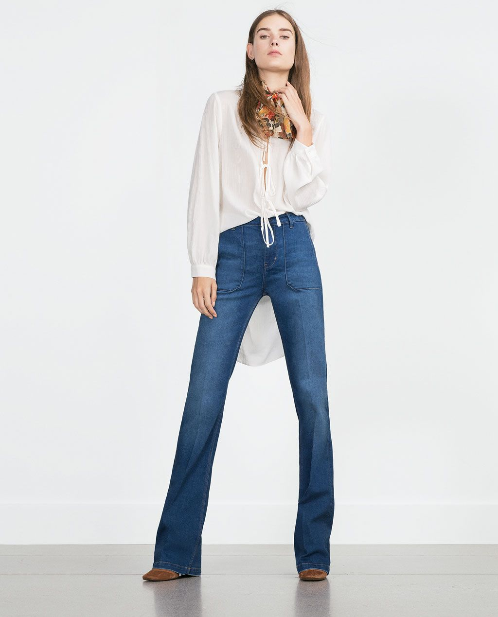 ff17ab3e90 FLARED JEANS-New this week-Woman-COLLECTION AW15 | ZARA United ...