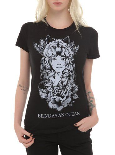Being As An Ocean Wolf Girls T-Shirt