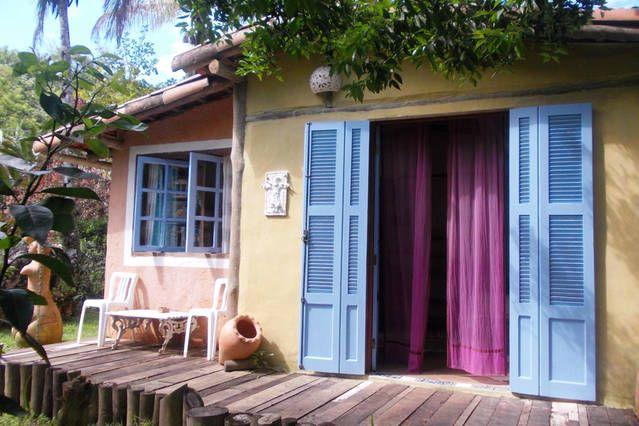 CABANA COCAIA NA MATA ATLÁNTICA 2p.   Airbnb para Celular