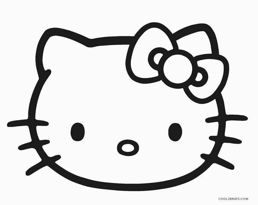 Hello Kitty Face Coloring Pages Hello Kitty Colouring Pages Hello Kitty Coloring Kitty Coloring