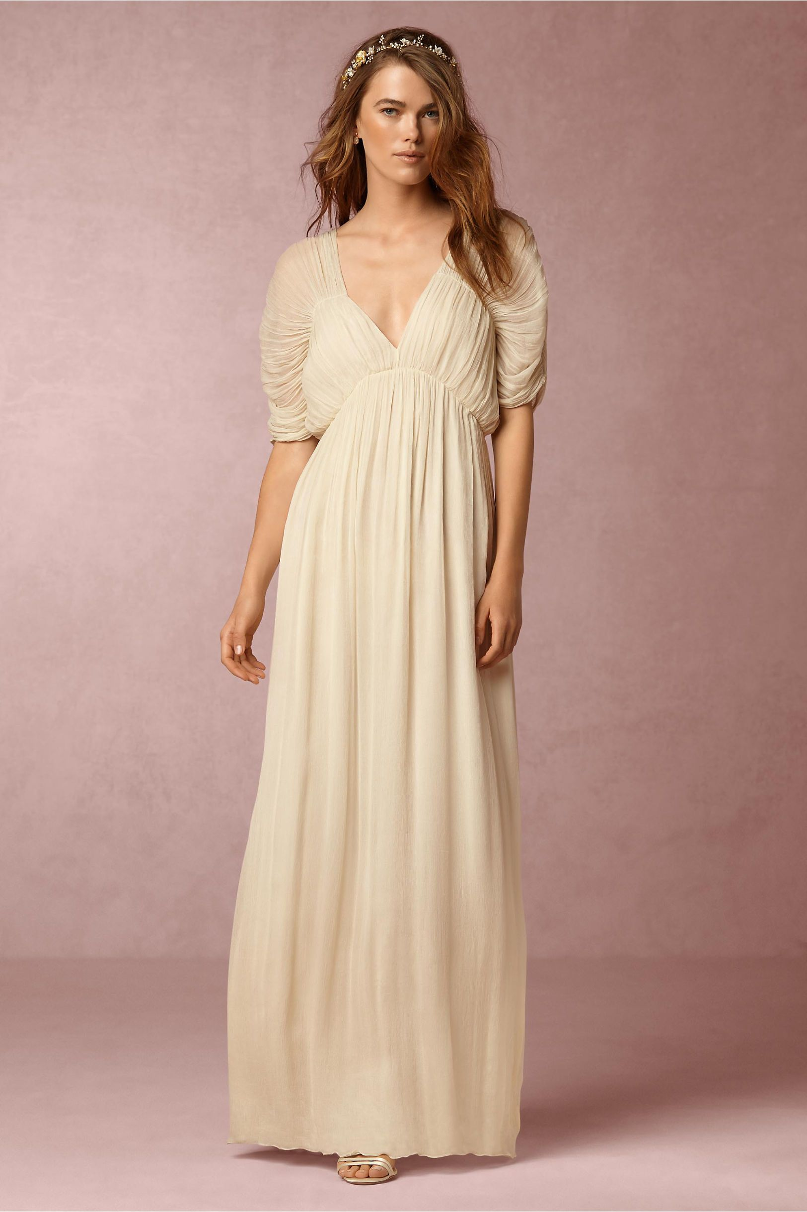 This is so beautiful! BHLDN Hermes Dress in Bride Reception ...