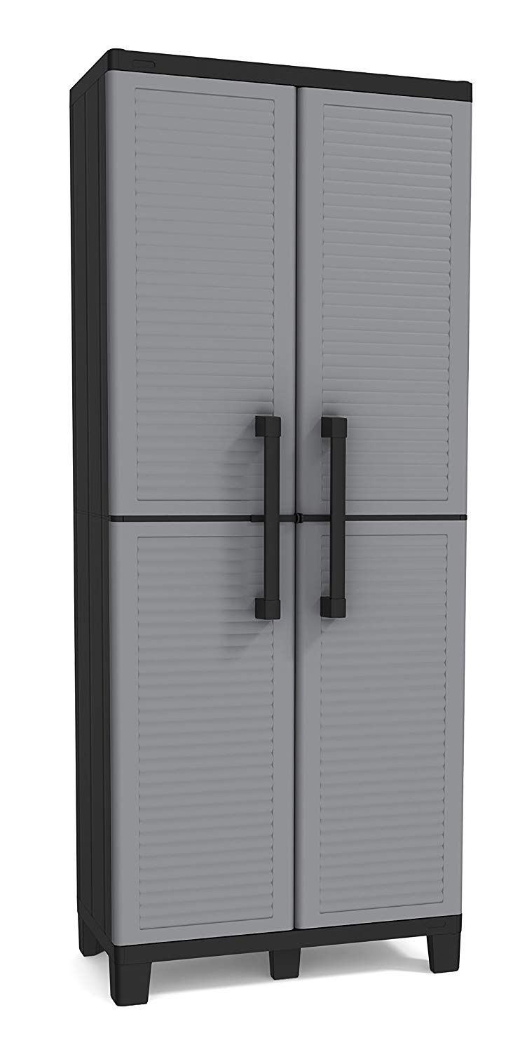 Garage Storage Utility Cabinet 5 6 Ft For Your Outbuilding
