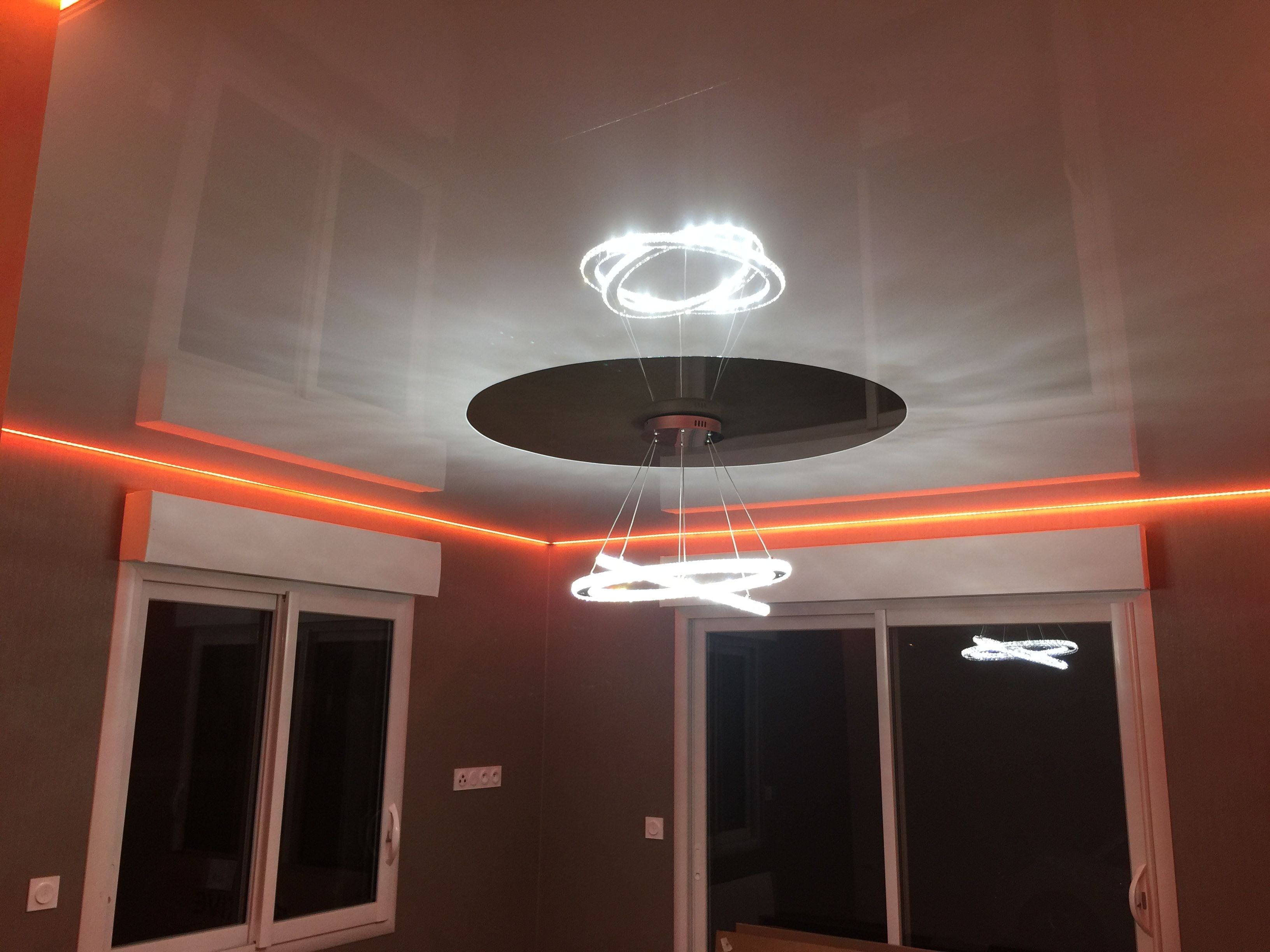 Plafond Tendu Inove Avec Périphérie Led Rgb Inove Fabricant