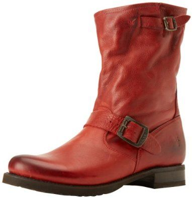 FRYE Women's Veroncia Shortie Ankle Boot,Burnt Red,6 M US FRYE. $297.95
