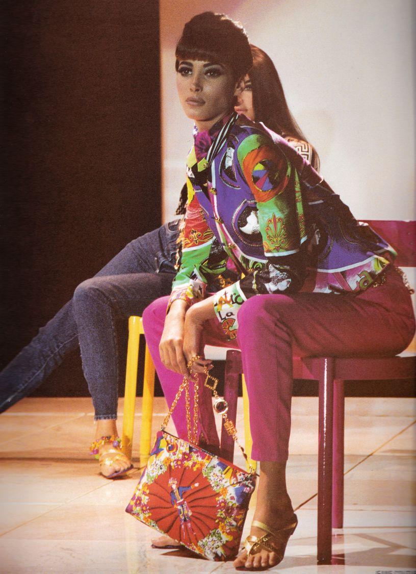 Christy Turlington / 1991 Gianni Versace Collezione Spring Summer / Lookbook