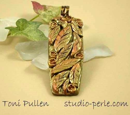 Polymer clay pendant tutorial learn how to make and attach a wire polymer clay pendant tutorial learn how to make and attach a wire bail aloadofball Images