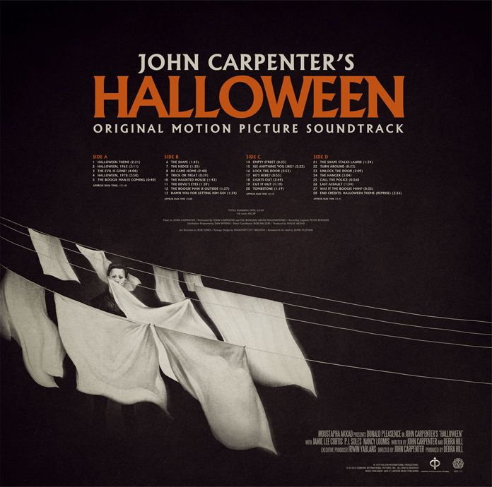 Phantom City Creative Halloween Ost Vinyl John Carpenter Halloween Soundtrack Halloween Vinyl