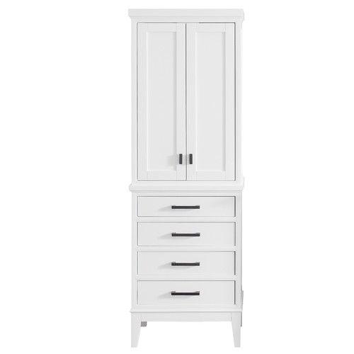 Avanity Madison 24 X 71 Freestanding Linen Tower Cabinet Linen Cabinet Linen Cabinets Linen Storage