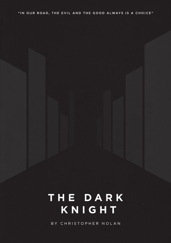 The second volume of minimalist movie posters, this time inspired on modern classics.