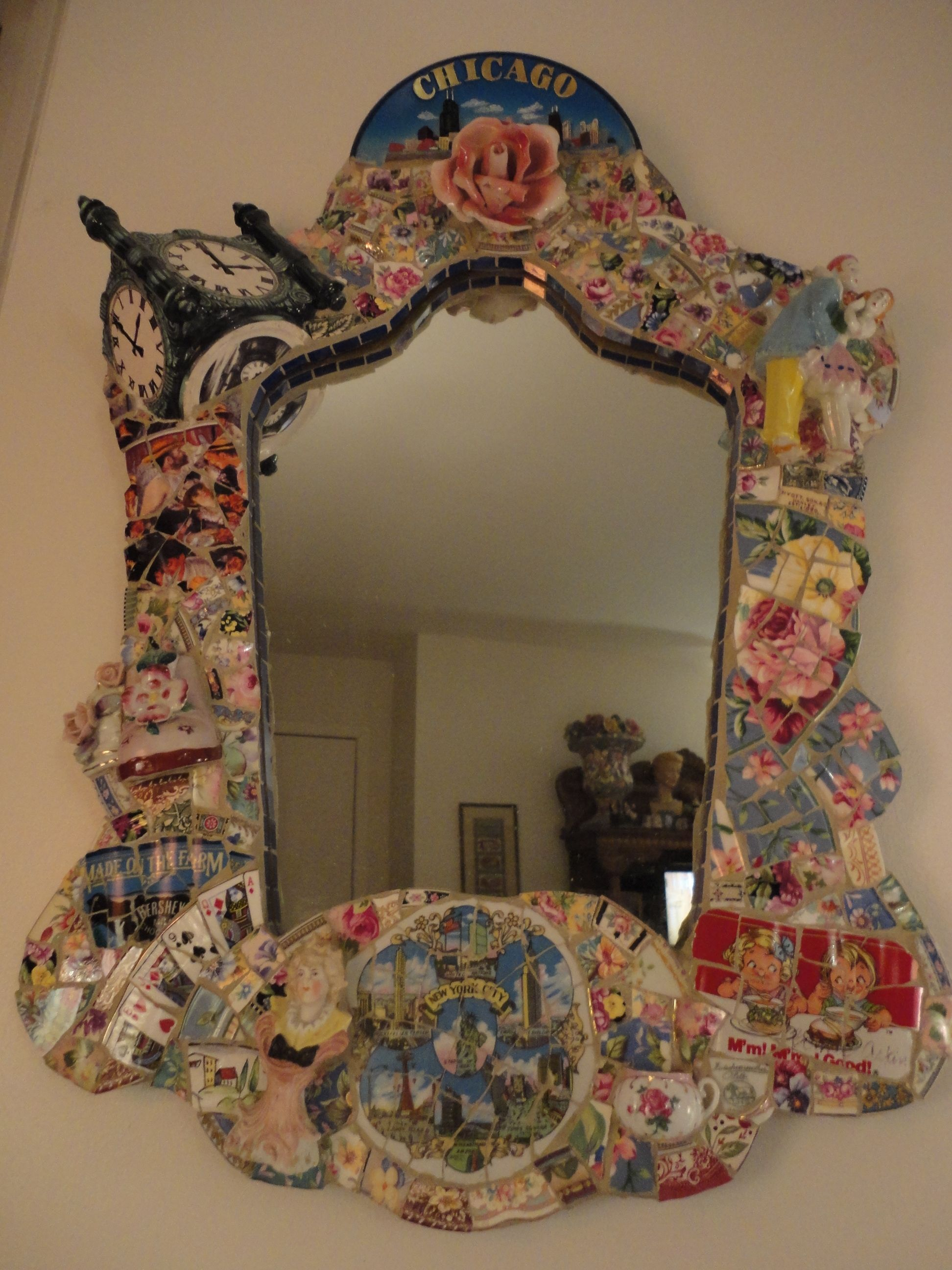 Chicago Mosaic Mirror created by Bonnie Arkin bonniearkin@gmail.com ...