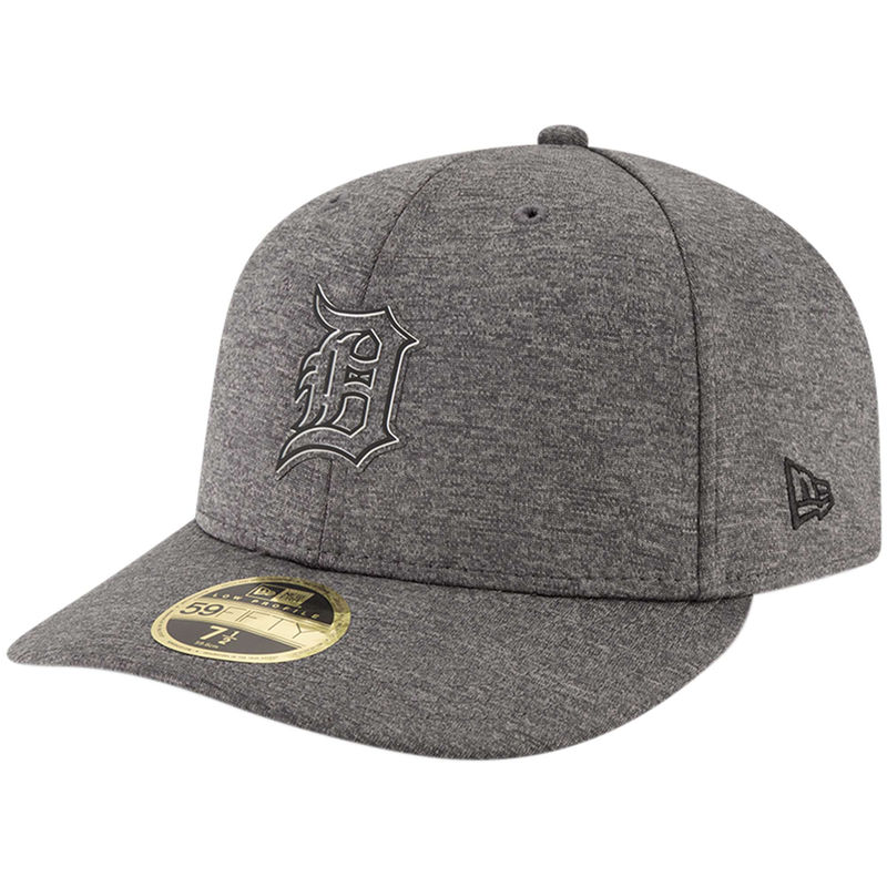 5e146c4653daaa Detroit Tigers New Era 2018 Clubhouse Collection Low Profile 59FIFTY Fitted  Hat - Graphite