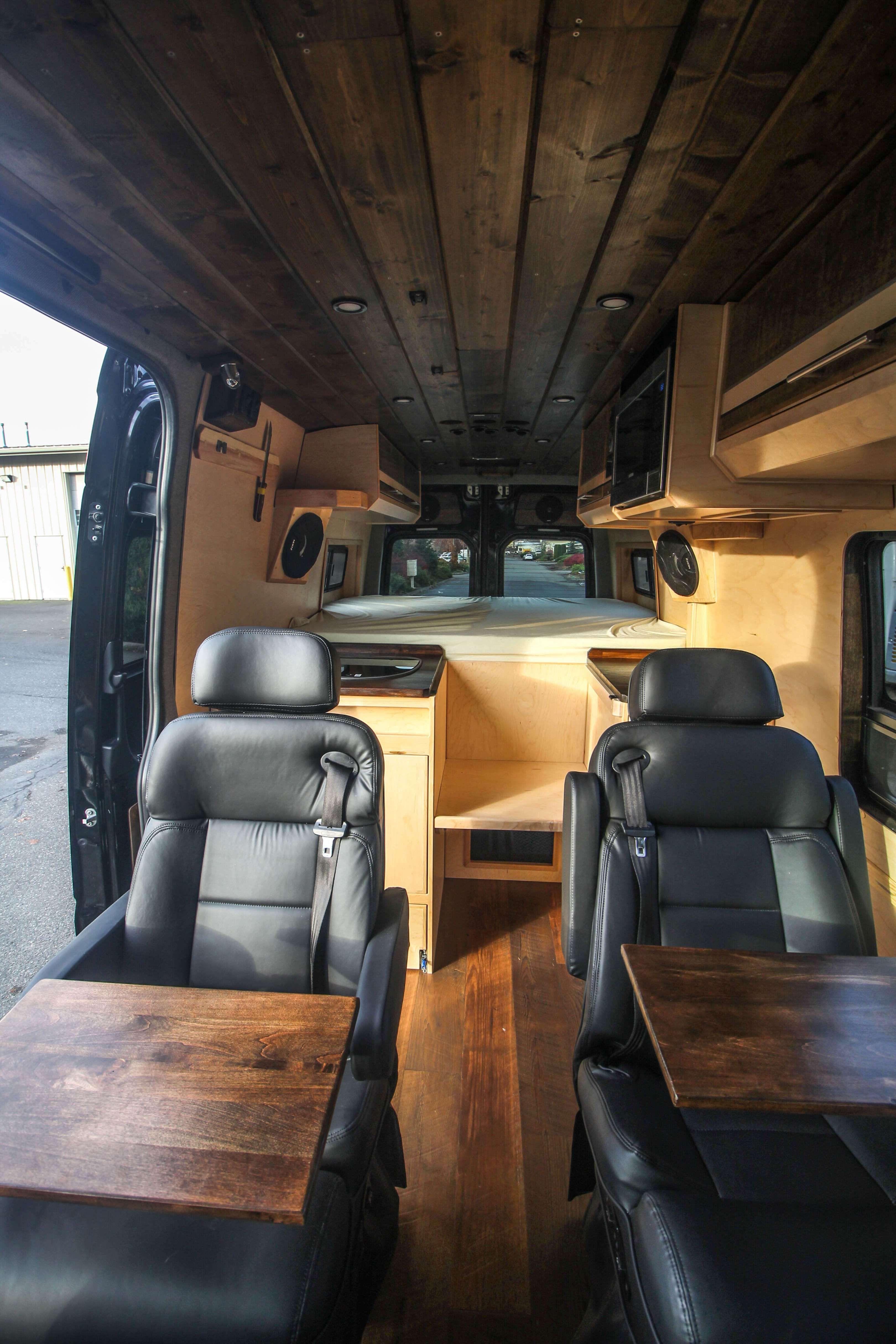 Hennessy Van conversion interior, Camper van conversion