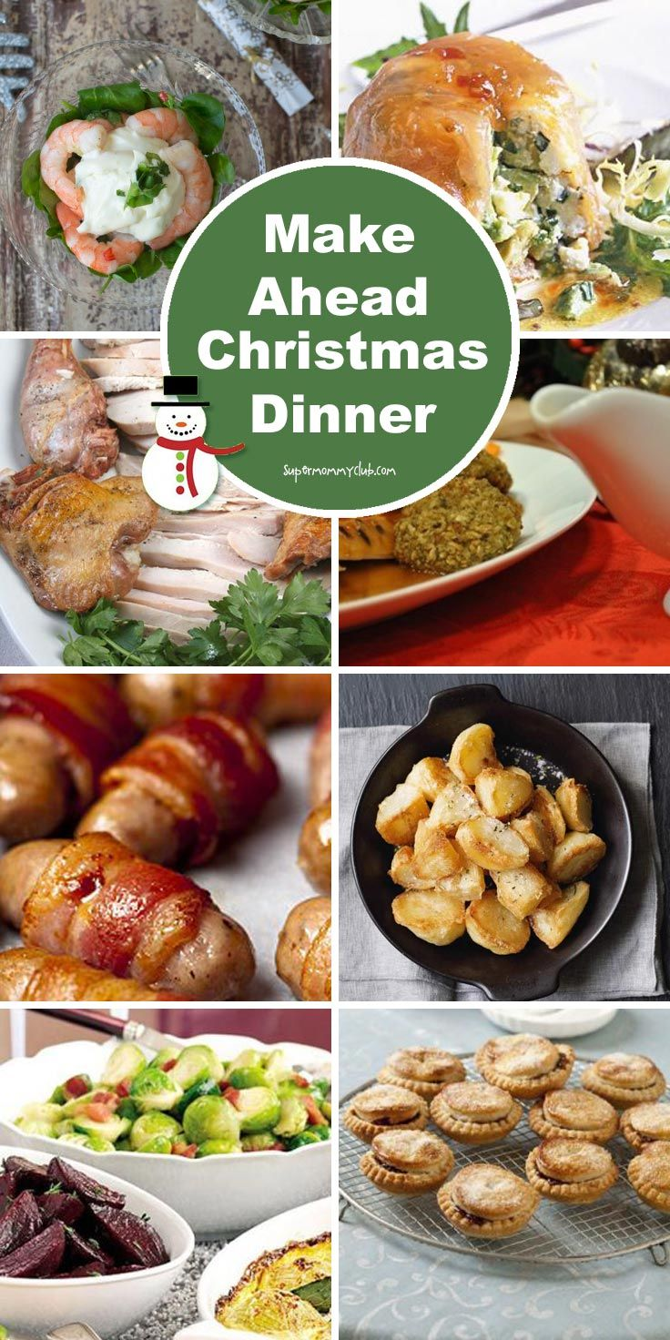 Make Ahead Christmas Dinner Fill Your Freezer with