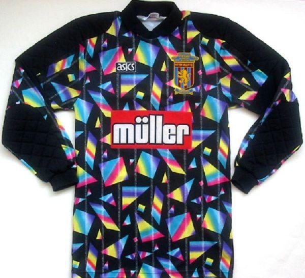 newest ea162 38564 I really want this! Shirt Kit of Aston Villa goalkeeper Mark ...