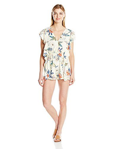 0d86bffe6bb MINKPINK Womens Garden Party Playsuit Multi Large    Details can be found  by clicking on