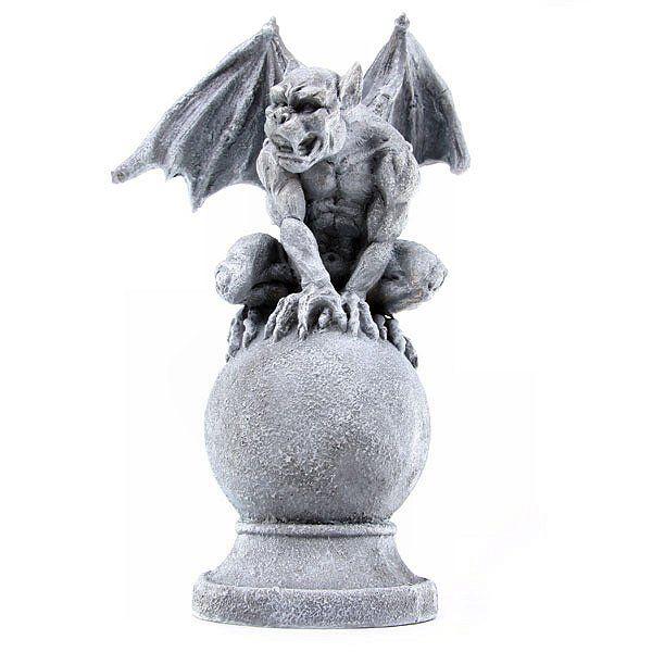 Selection Of Garden Gargoyle, Goblin, Griffin And Dragon Garden Ornaments  And Statues