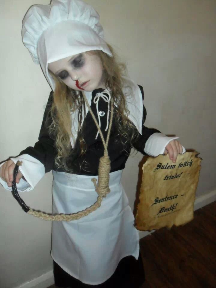 salem witch trial victim costume okay i wouldnt use this for a kid - Salem Witch Halloween Costume