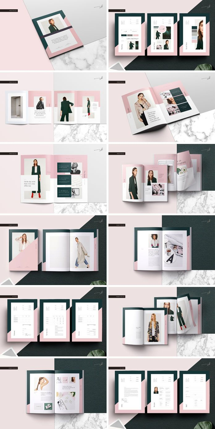 GALERIE Pitch Pack - Adobe InDesign template from Studio Standard ...