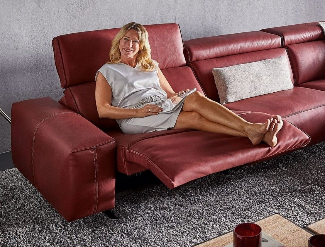 Canape D Angle Relaxation Exoville Tm Relax 4 Places Cuir Ou Tissu