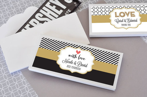 Chocolate Bar Wrer Personalized Labels Cover Custom Cho