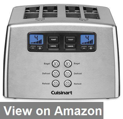 Cuisinart Cpt 440 Touch To Toast Leverless 4 Slice Toaster Bestinol Stainless Steel Toaster Toaster Cuisinart Toaster