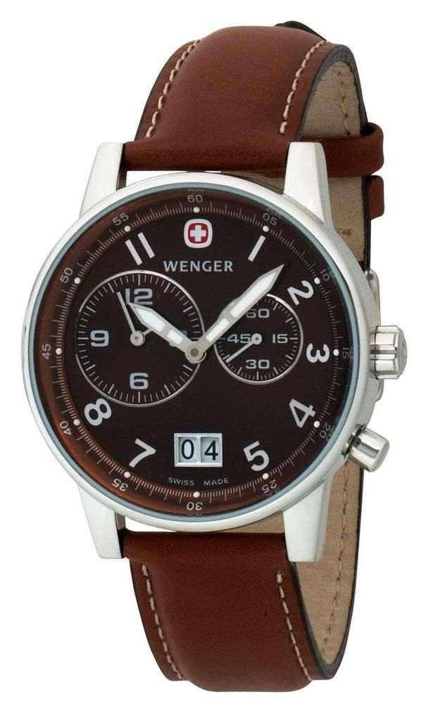 71ccab4a2 Swiss Military Wenger Commando City Dual Time Watch. The same watch that  Sheldon Cooper wears!