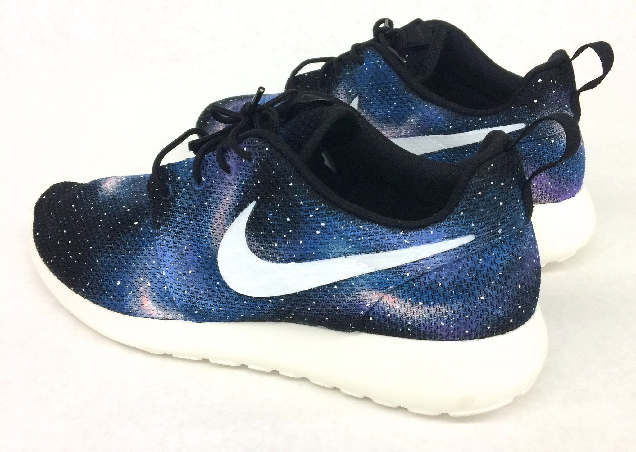 d69903319ff4 ... free shipping these custom hand painted nike roshe runs have galaxy  pattern painted all over the