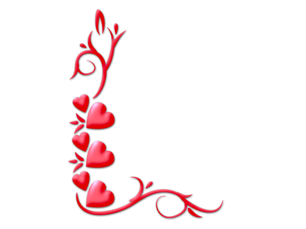 Photoshop Png Frames Wallpapers Designs Valentine Corners 16 ...