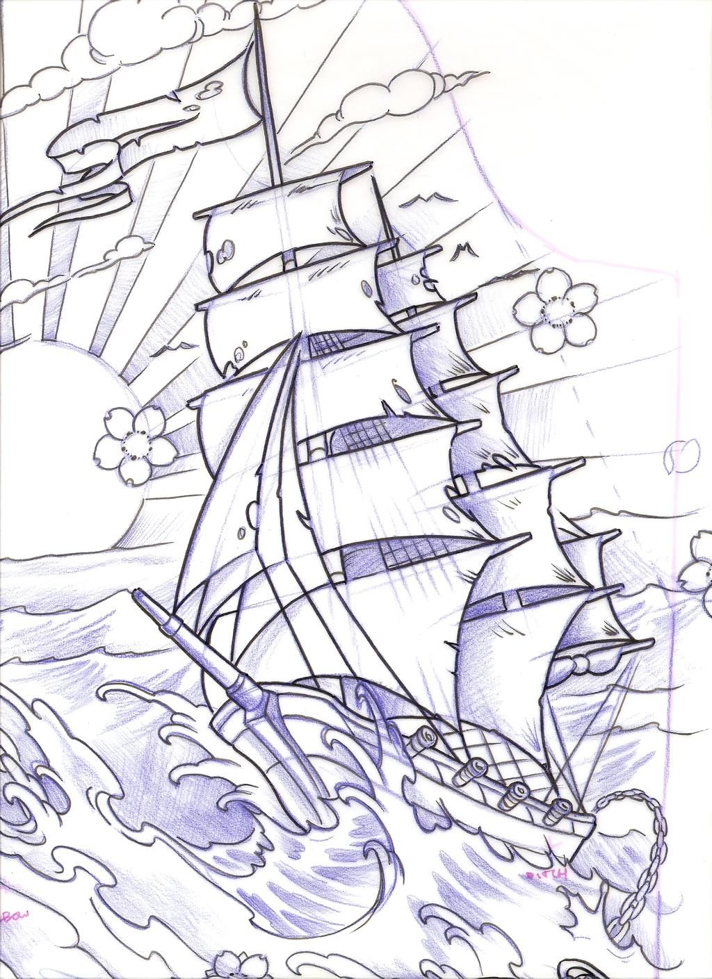 Scan0006 by 5stardesigns on DeviantArt in 2020 Ship