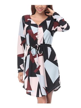 37347915886c Topcobe Wine Red Women Clothing Clearance, V-Neck Clearance Short Dress for  Women, Swing Hem Midi Dress for Women on Sales, S-XL(T2256WRS, Asian Size)