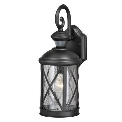 Patriot Lighting Reg Dualux Sonoma 16 3 8 Black 1 Light Outdoor Motion Activated Wall Light Outdoor Wall Lantern Outdoor Wall Lighting Wall Lantern
