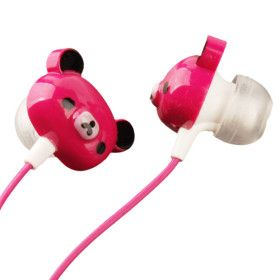 Teddy Bear Headphones: Too cute! These little guys can deliver me some banging beats all day long!