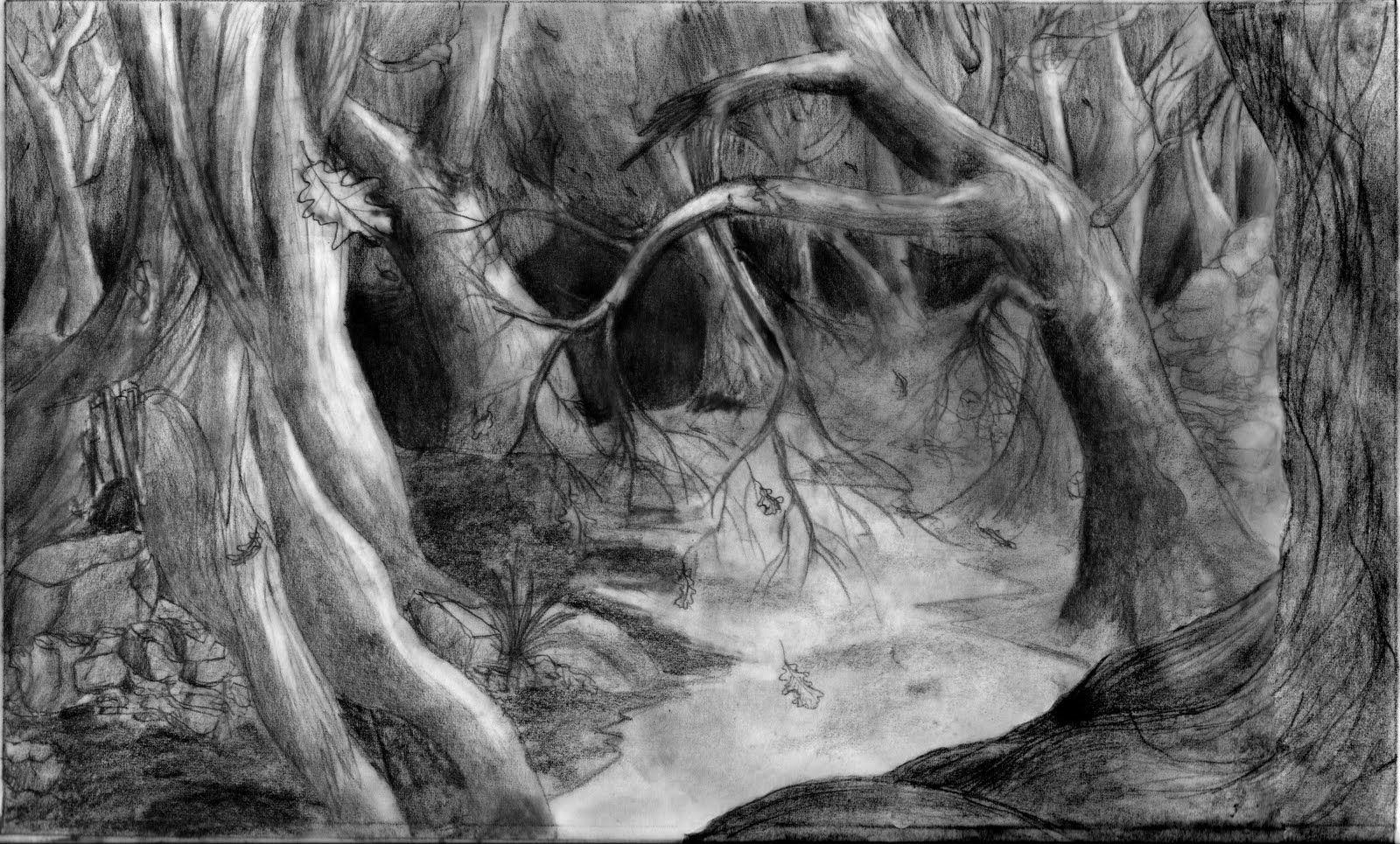 treescaryjpg 1600215965 creepy forest ref pinterest