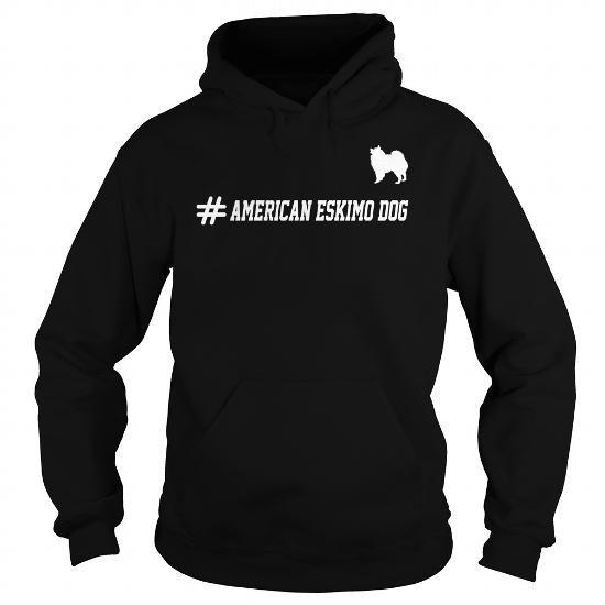 Hashtag American Eskimo Dog Hoodie OmyyfCYJ