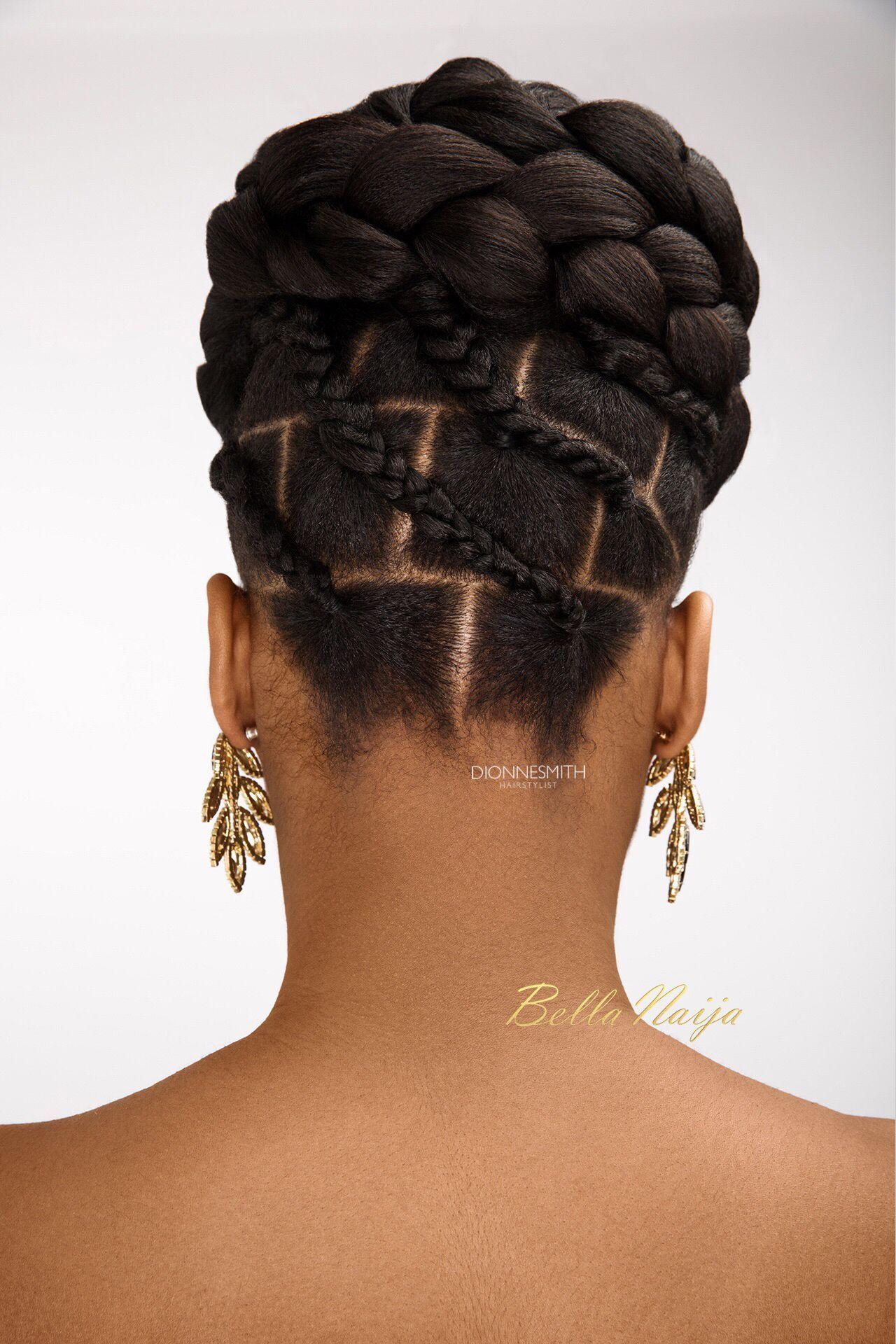 BN Bridal Beauty International Bridal Hair Specialist Dionne Smith presents Elegant Evening