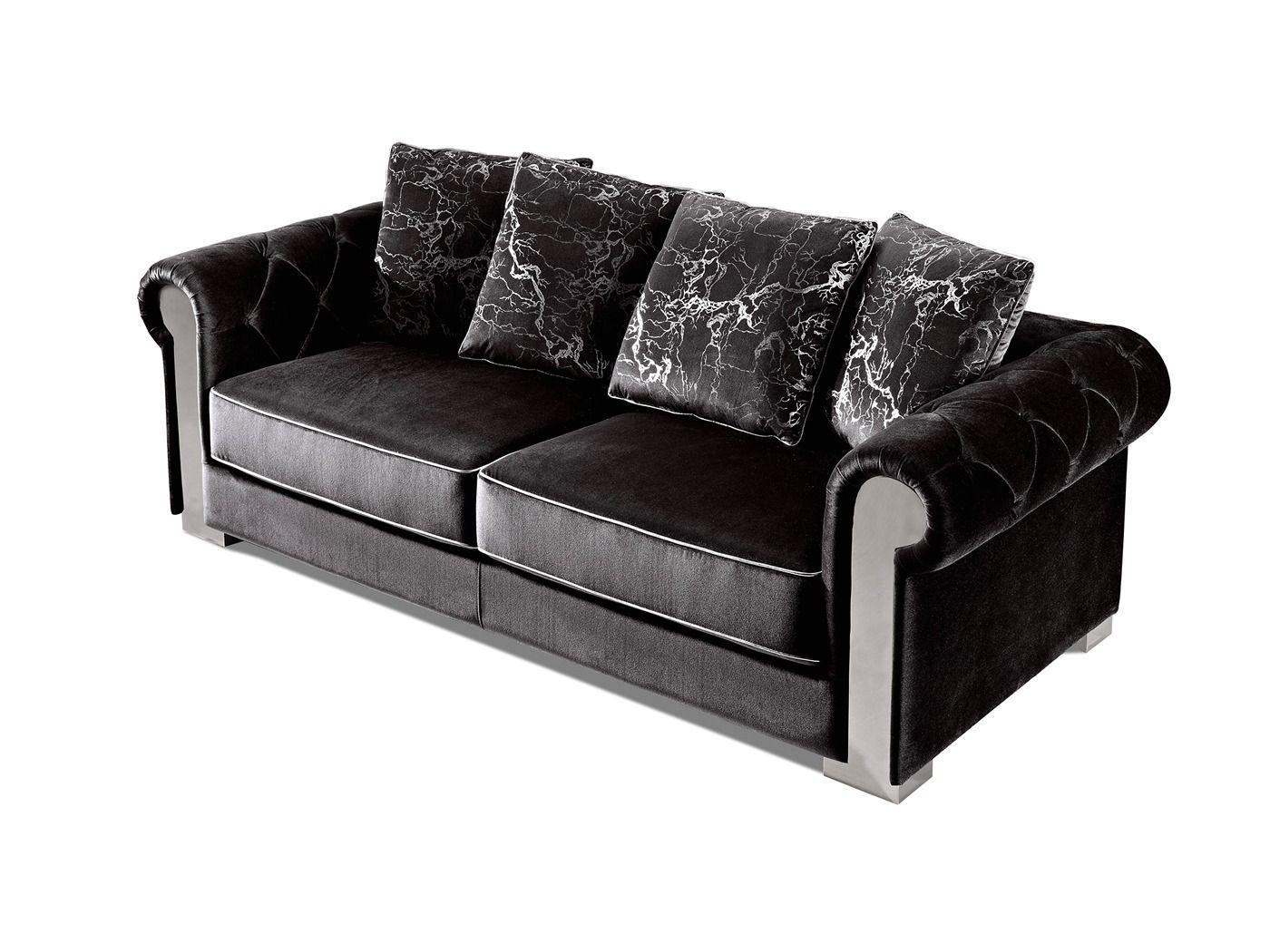 Us Pride Furniture Rivian Black Velvet Sofa Bed Slepper With Mattress S5596 The Home Depot Us Pride Furni In 2020 Black Velvet Sofa Velvet Sofa Bed Cushions On Sofa