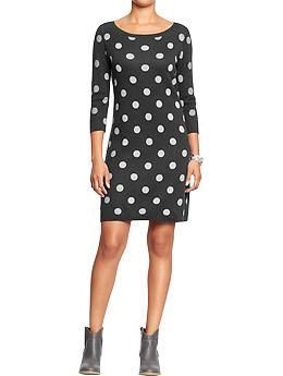 9d196025ee2 Women s Polka Dot Sweater Dresses