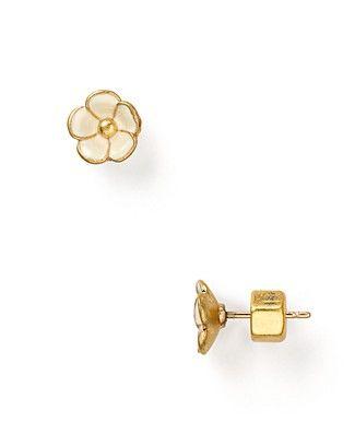 marc by marc jacobs flower stud earrings