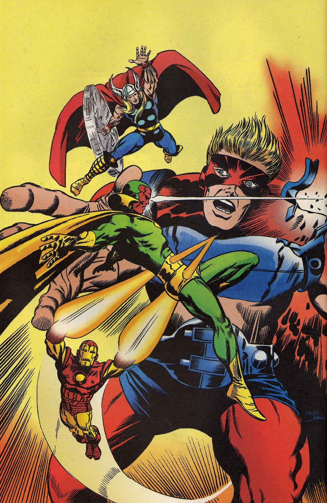 The Avengers by Barry Windsor-Smith