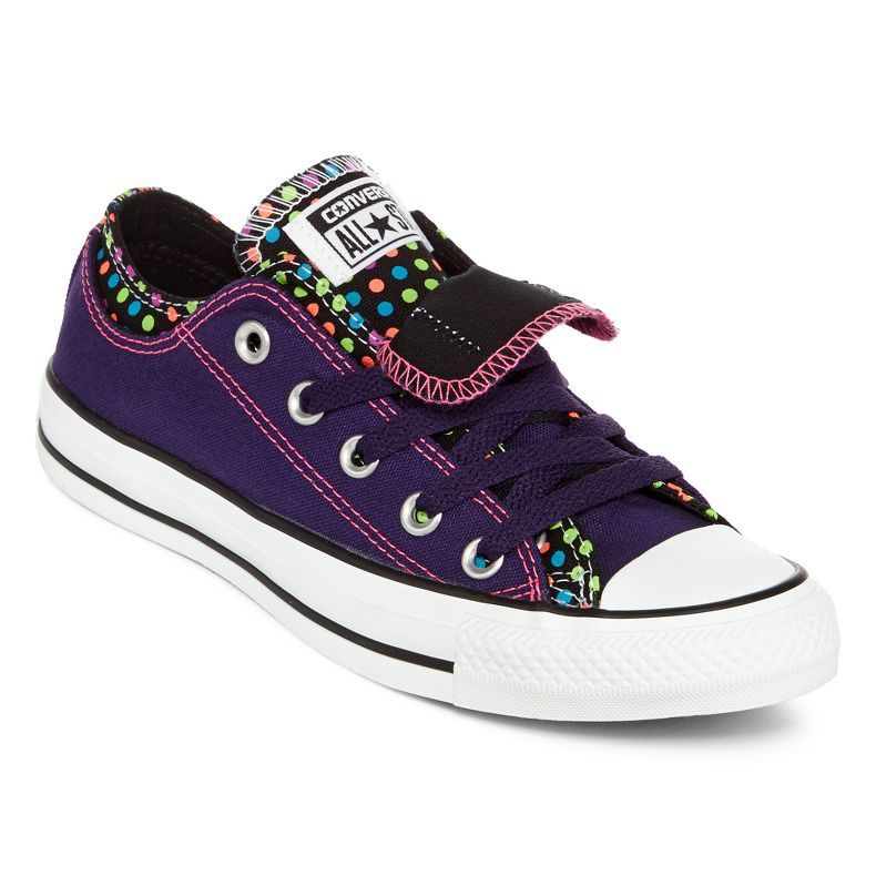 5dbff91e143 jcpenney - Converse Chuck Taylor All Star Polka Dot Sneakers - Unisex  Sizing - jcpenney