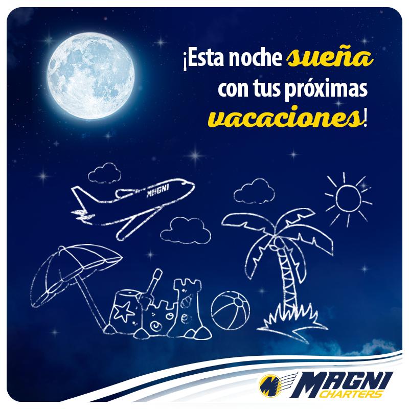 ¡Sueña con tus próximas #vacaciones!