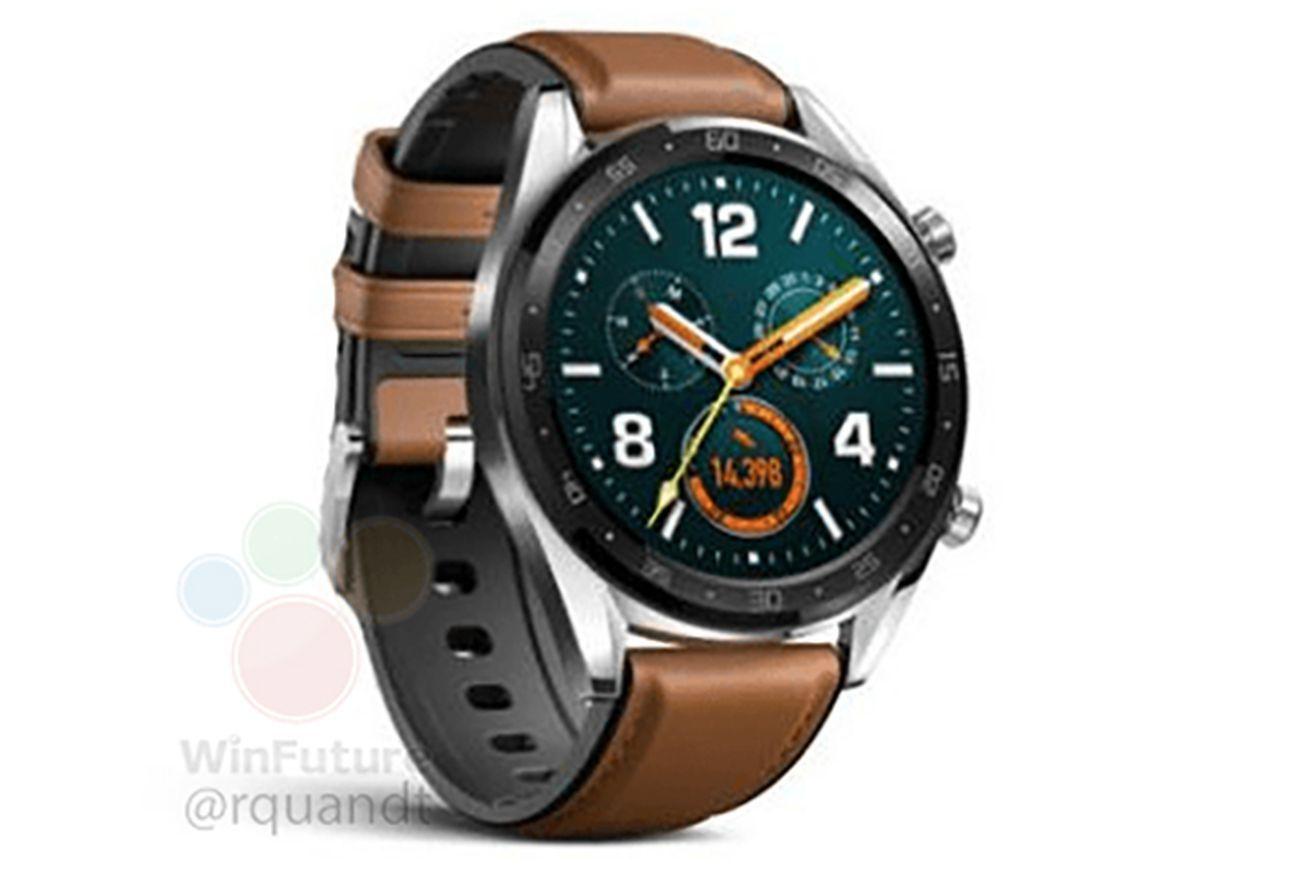 Huawei Watch Gt Details Leak In Fcc Filing Huawei Watch Smart Watch Huawei