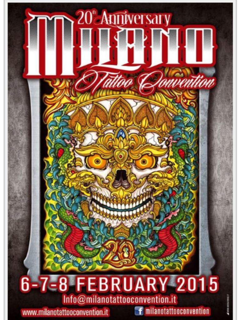 PMP Tattoo Parlour  va in Convention 6-7-8 Febbraio per chi fosse interessato può contattarci in studio oppure scrivere a info@pmptattoo.com