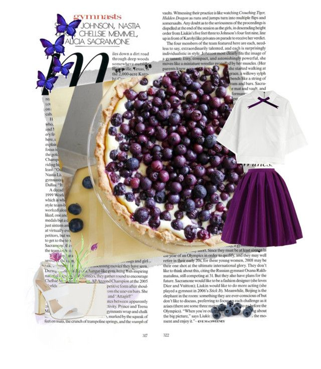 """""""Summer pudding"""" by andonwednesdayswewearpink ❤ liked on Polyvore"""