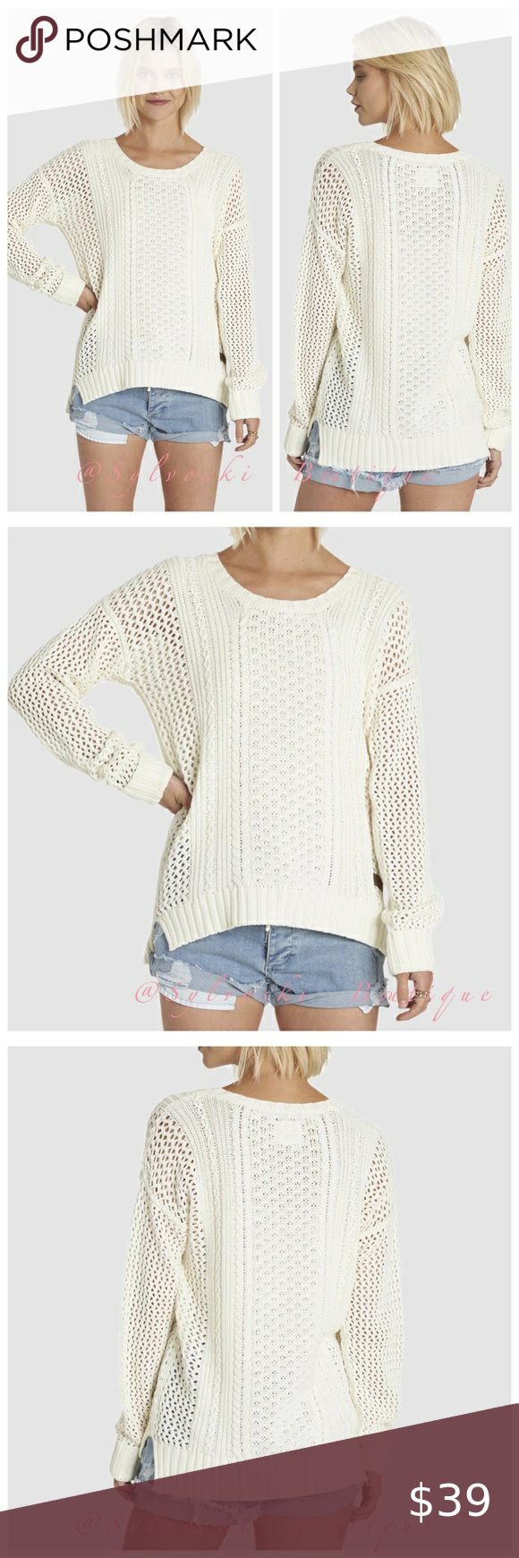 🔥 VOYAGE KNIT SWEATER NWT